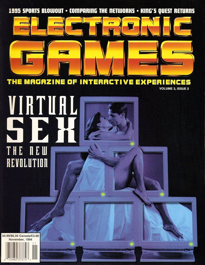 Electronic Games Issue 26 November 1994 (Volume 3 Issue 2)