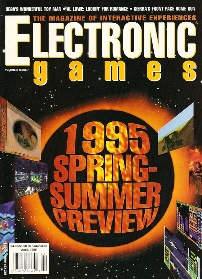 Electronic Games Issue 31 April 1995 (Volume 3 Issue 7)