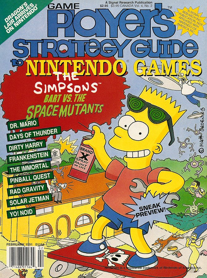 Game Player's Strategy Guide to Nintendo Games Vol.4 No.02 (February 1991)