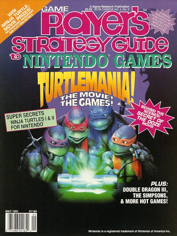 Game Player's Strategy Guide to Nintendo Games Vol.4 No.05 (May 1991)
