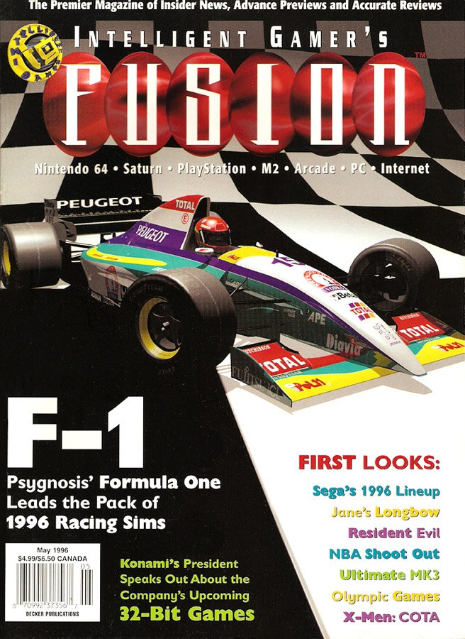 Intelligent Gamer's Fusion Issue 10 May 1996 (Volume 2 Issue 10)
