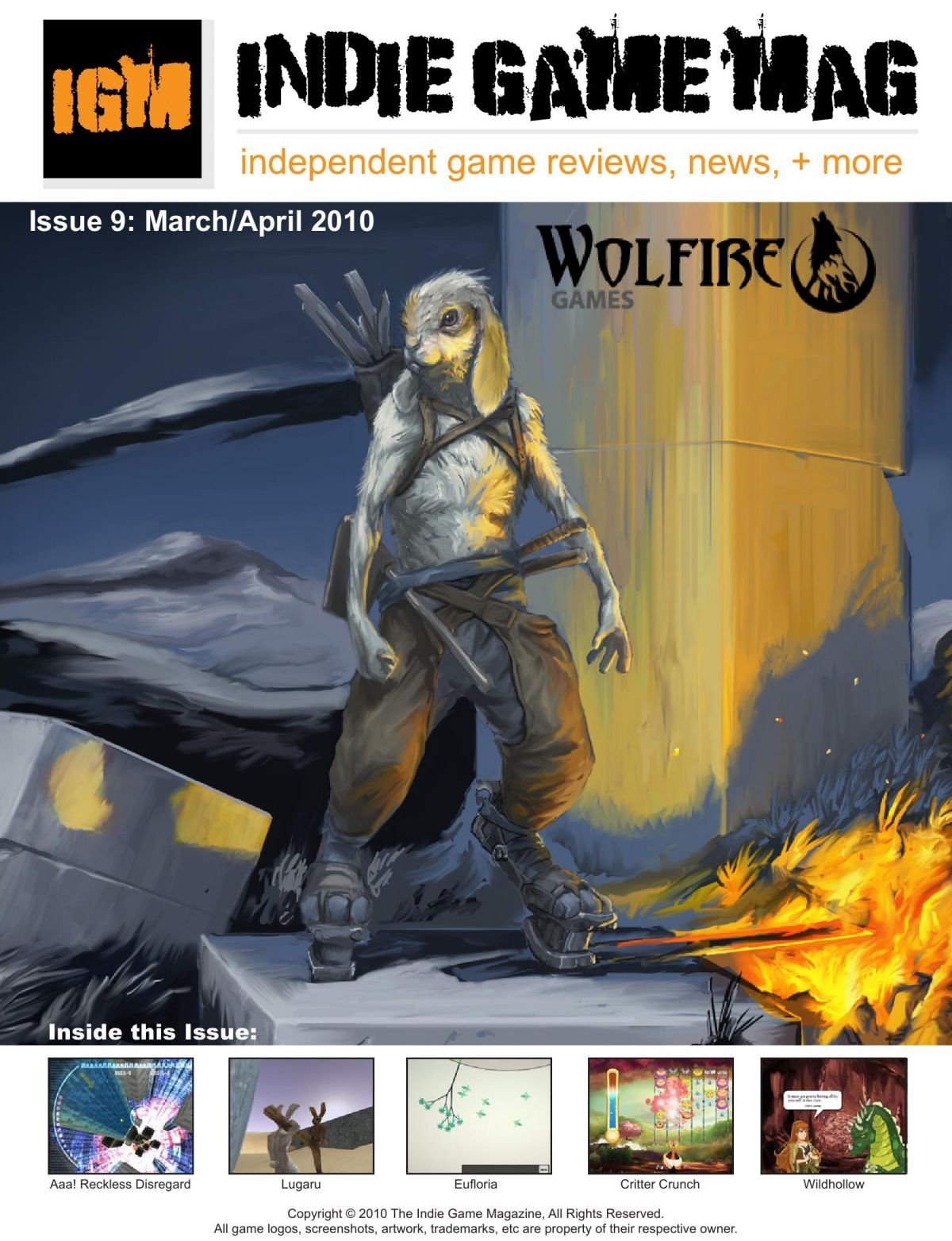 Indie Game Magazine 009 March-April 2010