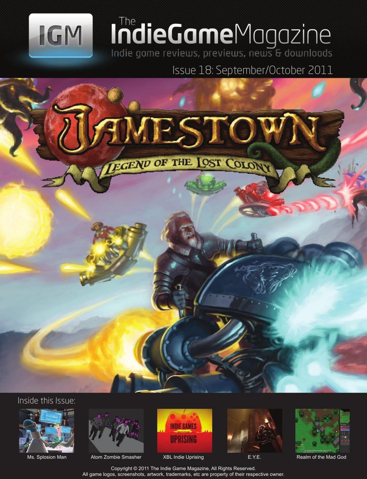 Indie Game Magazine 018 September-October 2011