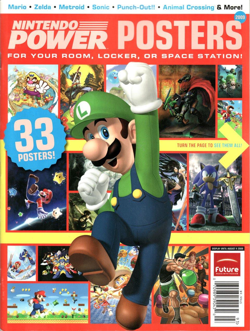Nintendo Power Posters 2009