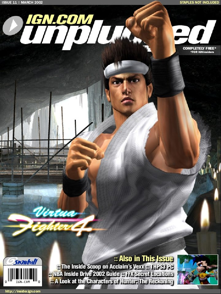 IGN Unplugged Issue 11 Cover 3 of 6 (March 2002)