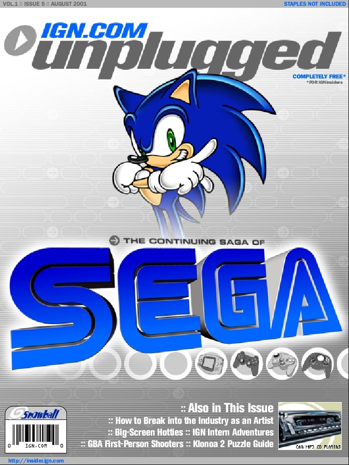 IGN Unplugged Issue 05 (August 2001)