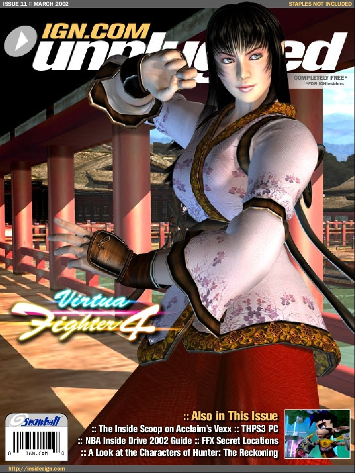 IGN Unplugged Issue 11 Cover 6 of 6 (March 2002)