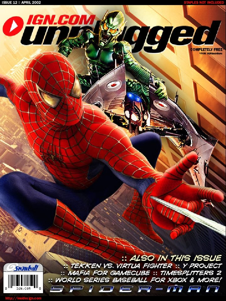 IGN Unplugged Issue 12 (April 2002)