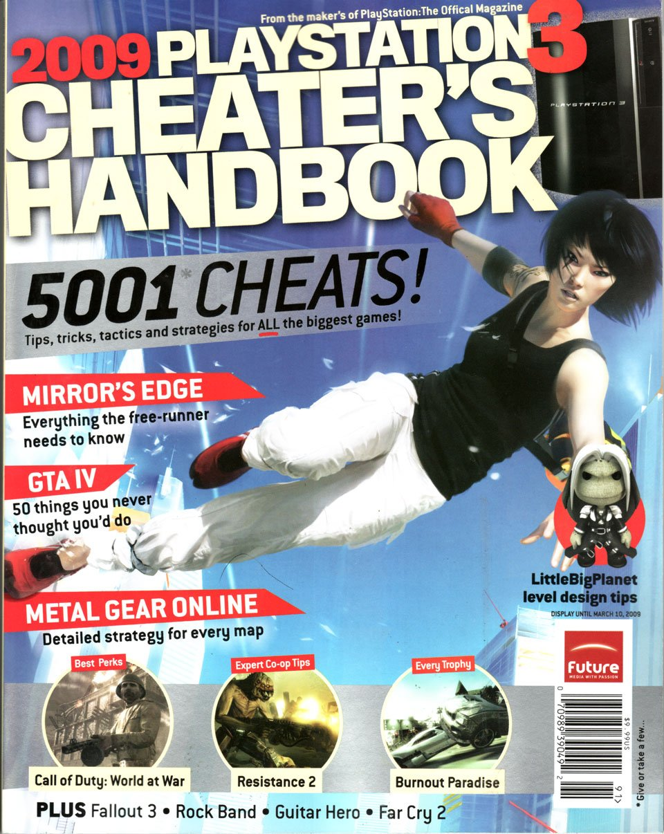2009 PS3 Cheater's Handbook