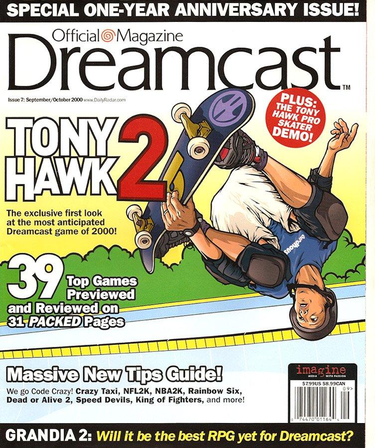 Official Sega Dreamcast Magazine Issue 007 (September-October 2000)