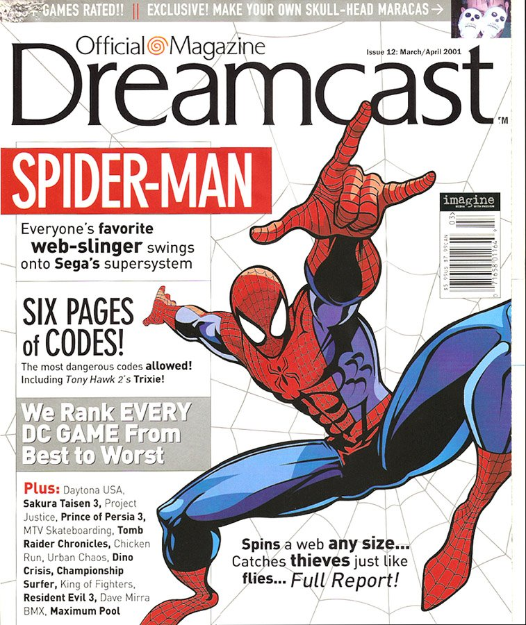 Official Sega Dreamcast Magazine Issue 012 (March-April 2001)