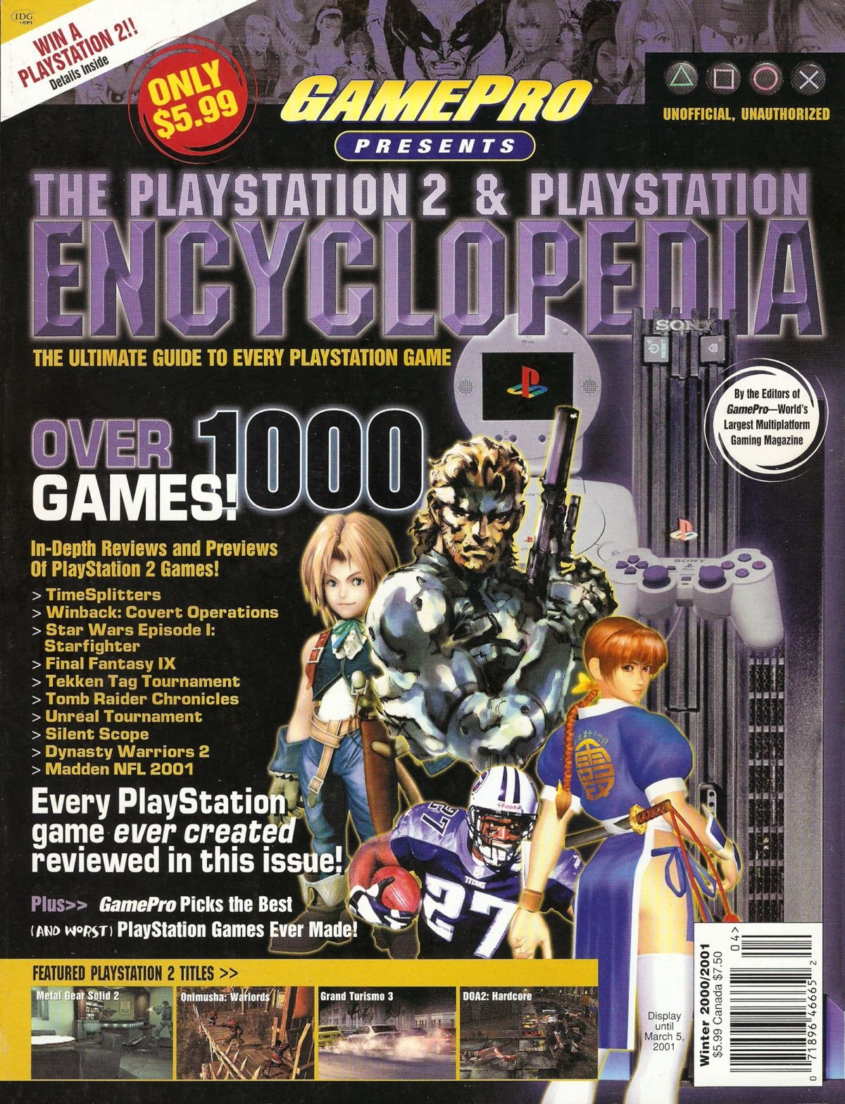 GamePro Presents The PlayStation 2 & PlayStation Encyclopedia (Winter 2000/2001)