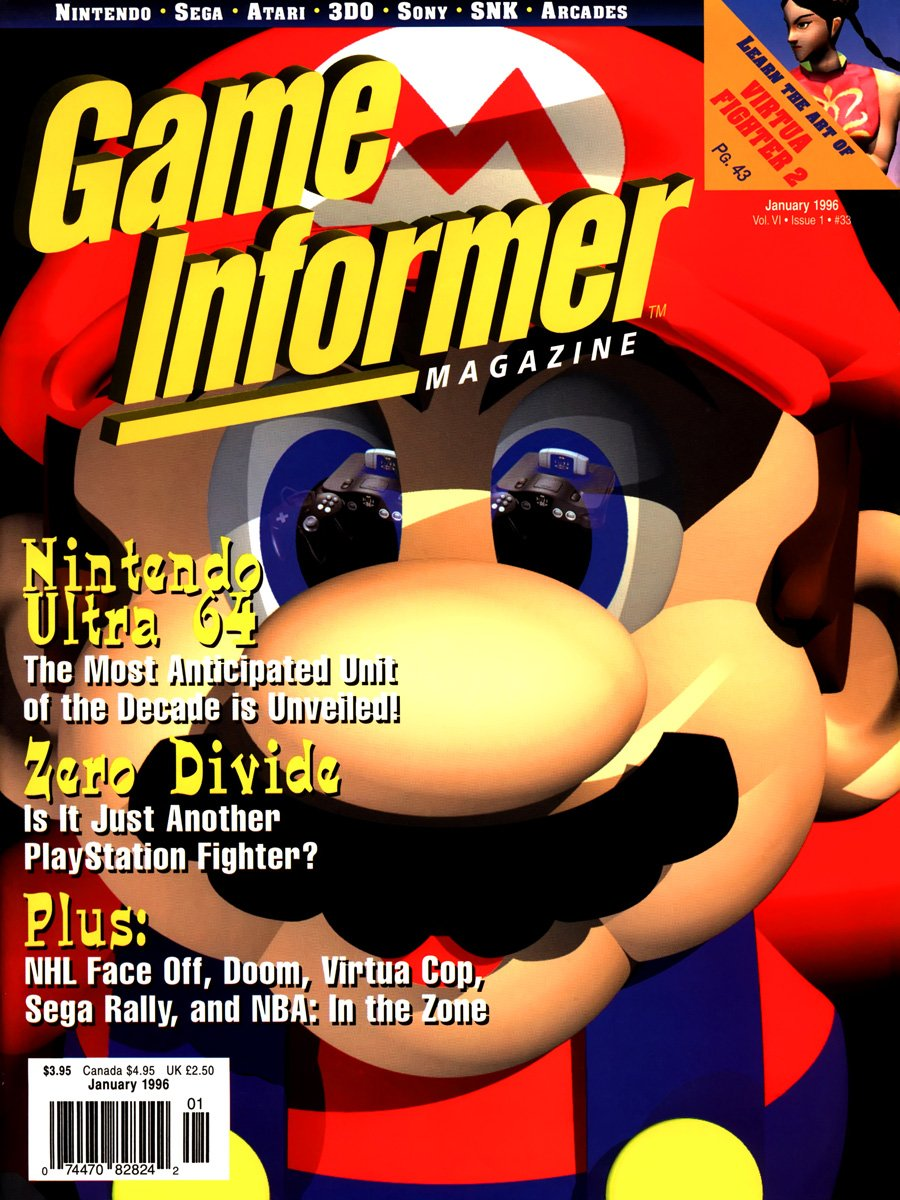 Game Informer Issue 033 January 1996