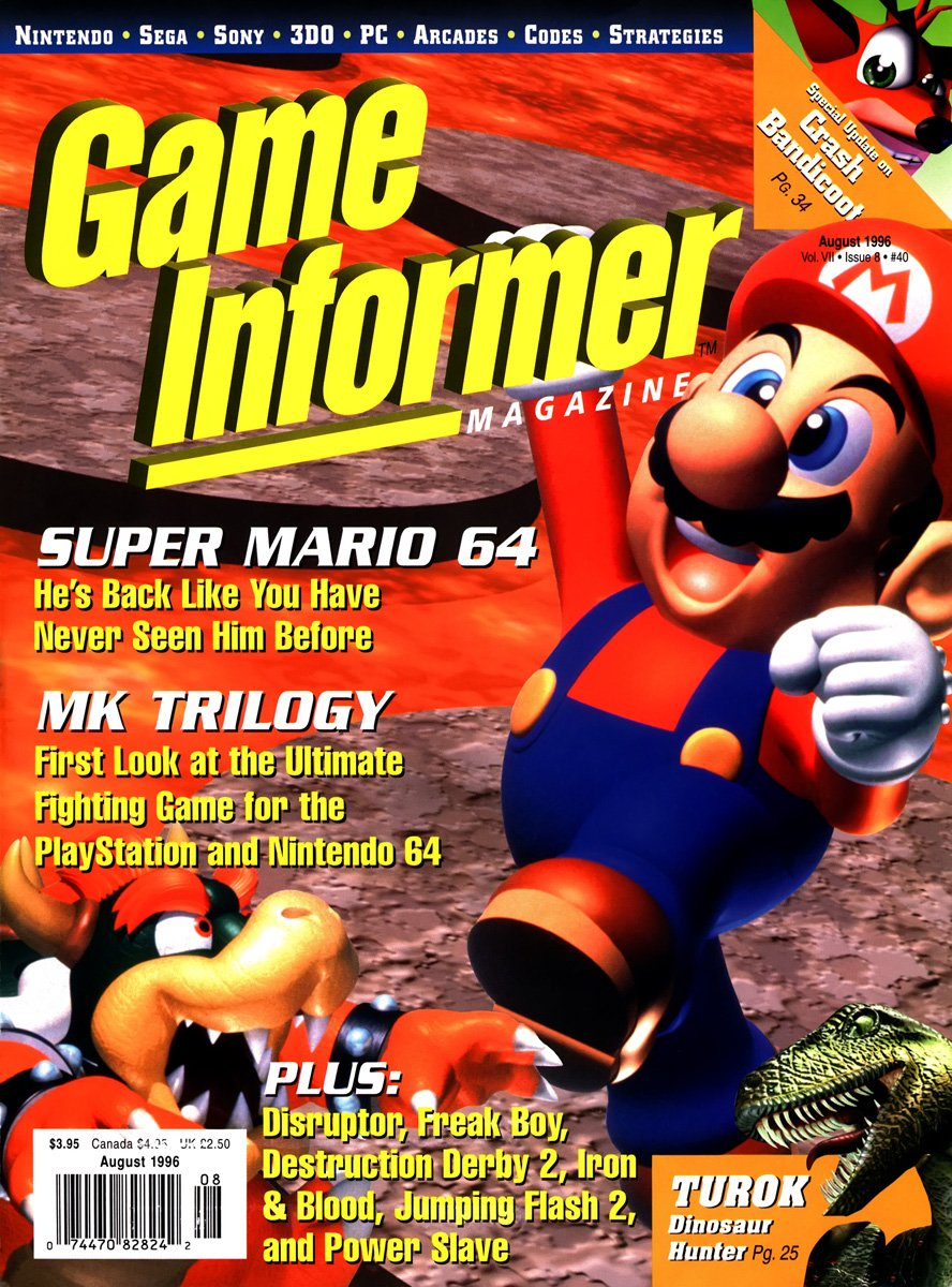 Game Informer Issue 040 August 1996