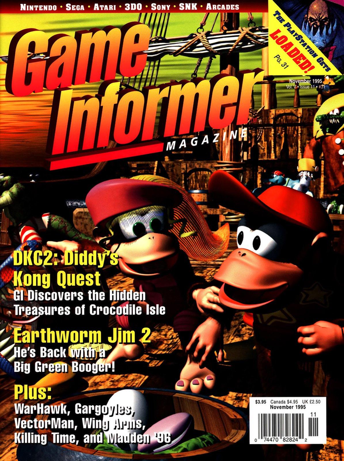 Game Informer Issue 031 November 1995