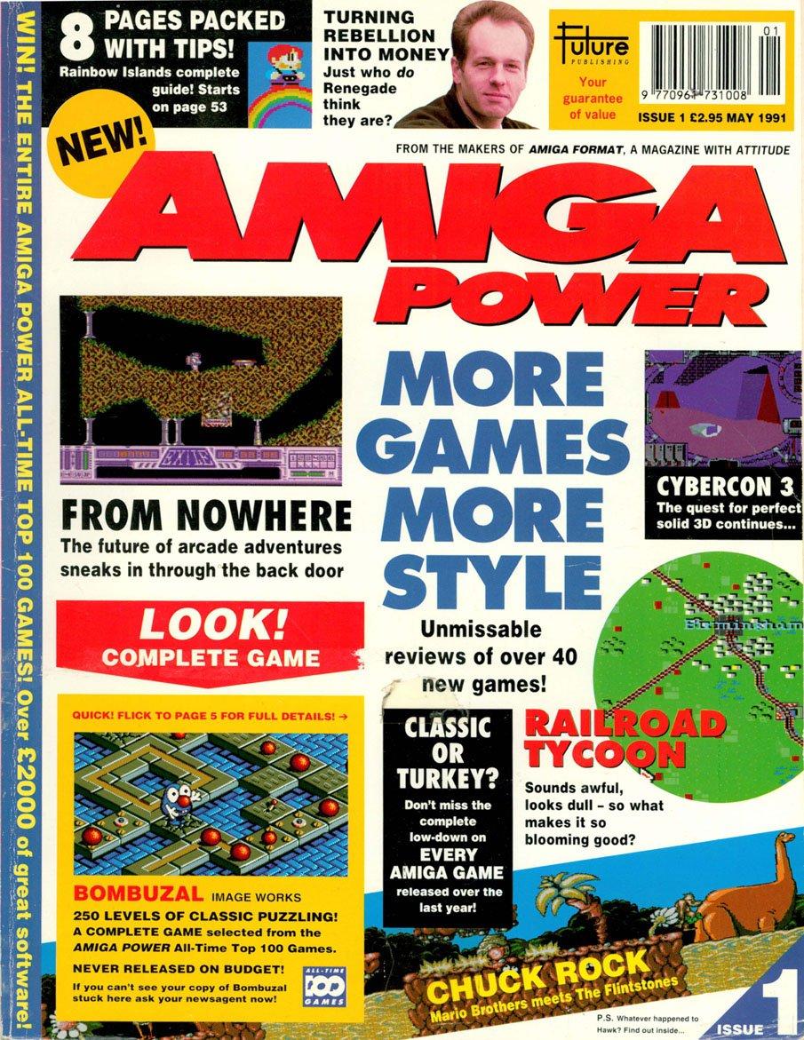Amiga Power Issue 01 (May 1991)
