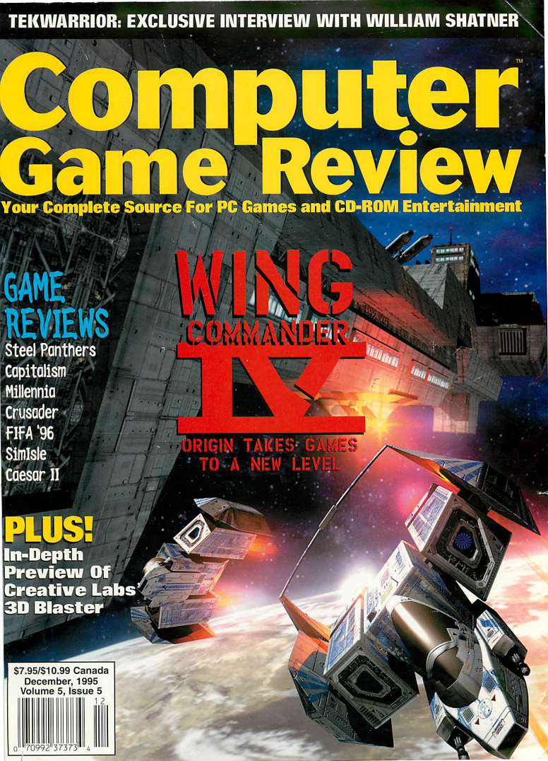Computer Game Review Issue 53 (December 1995)