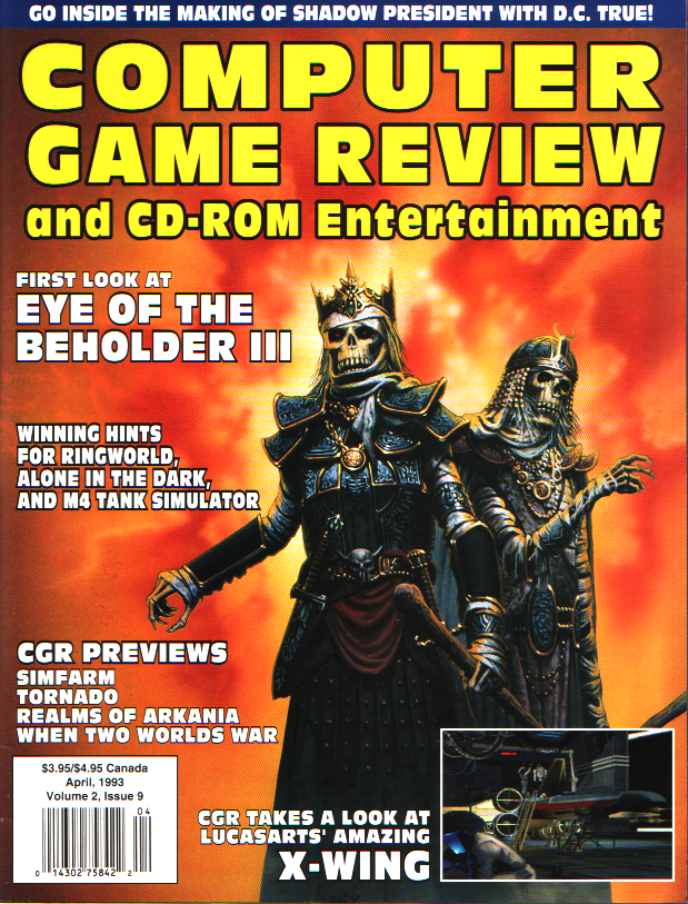 Computer Game Review Issue 21 (April 1993)