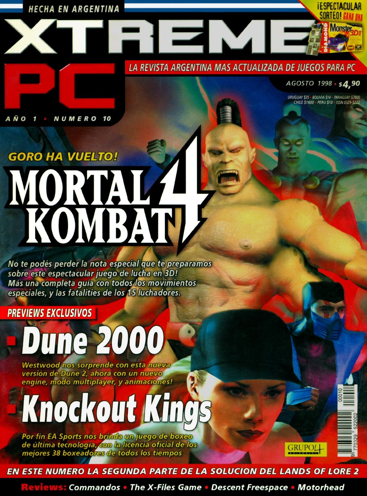 Xtreme PC 10 August 1998