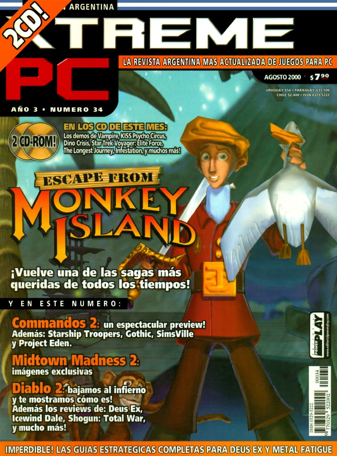 Xtreme PC 34 August 2000