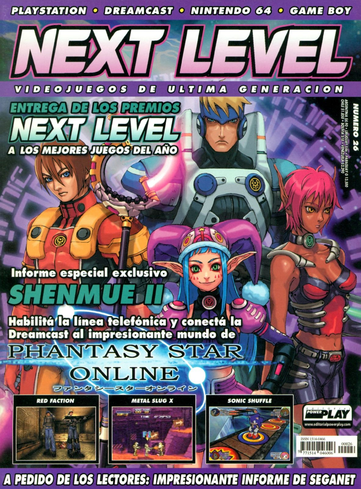 Next Level 26 March 2001