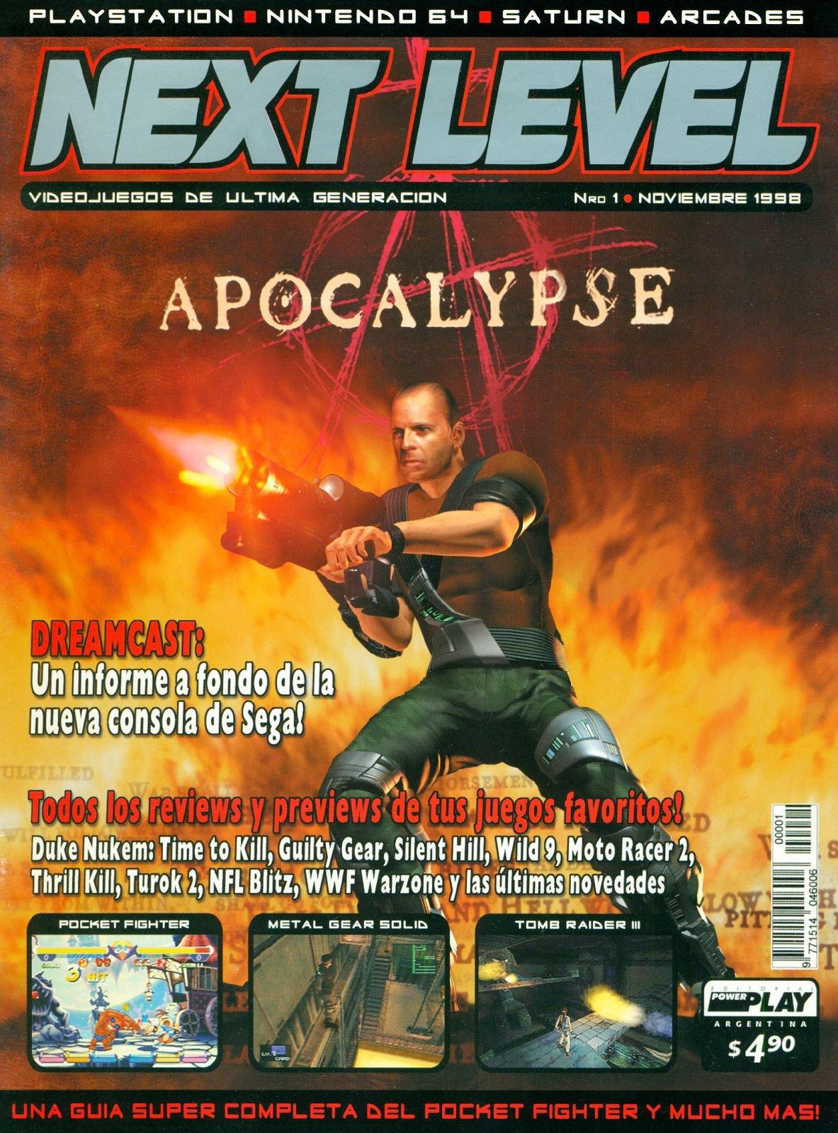 Next Level 01 November 1998