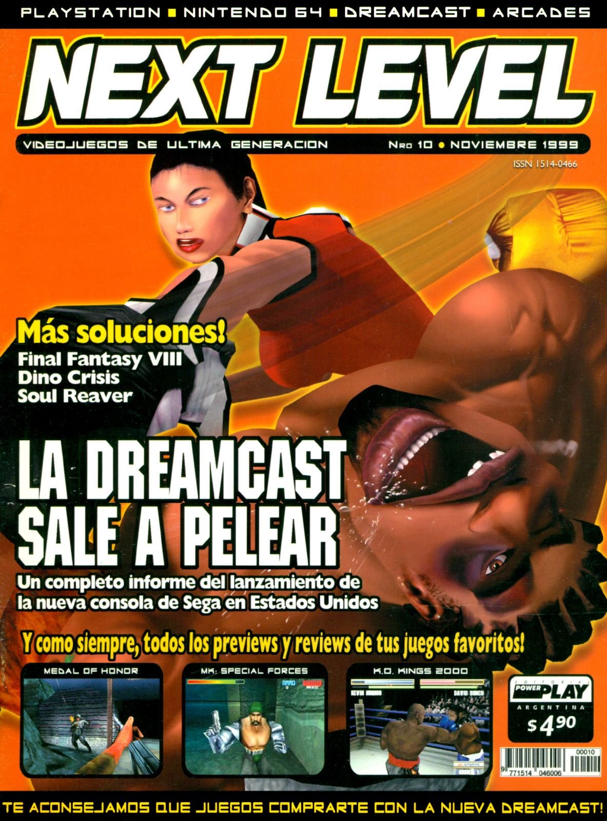 Next Level 10 November 1999