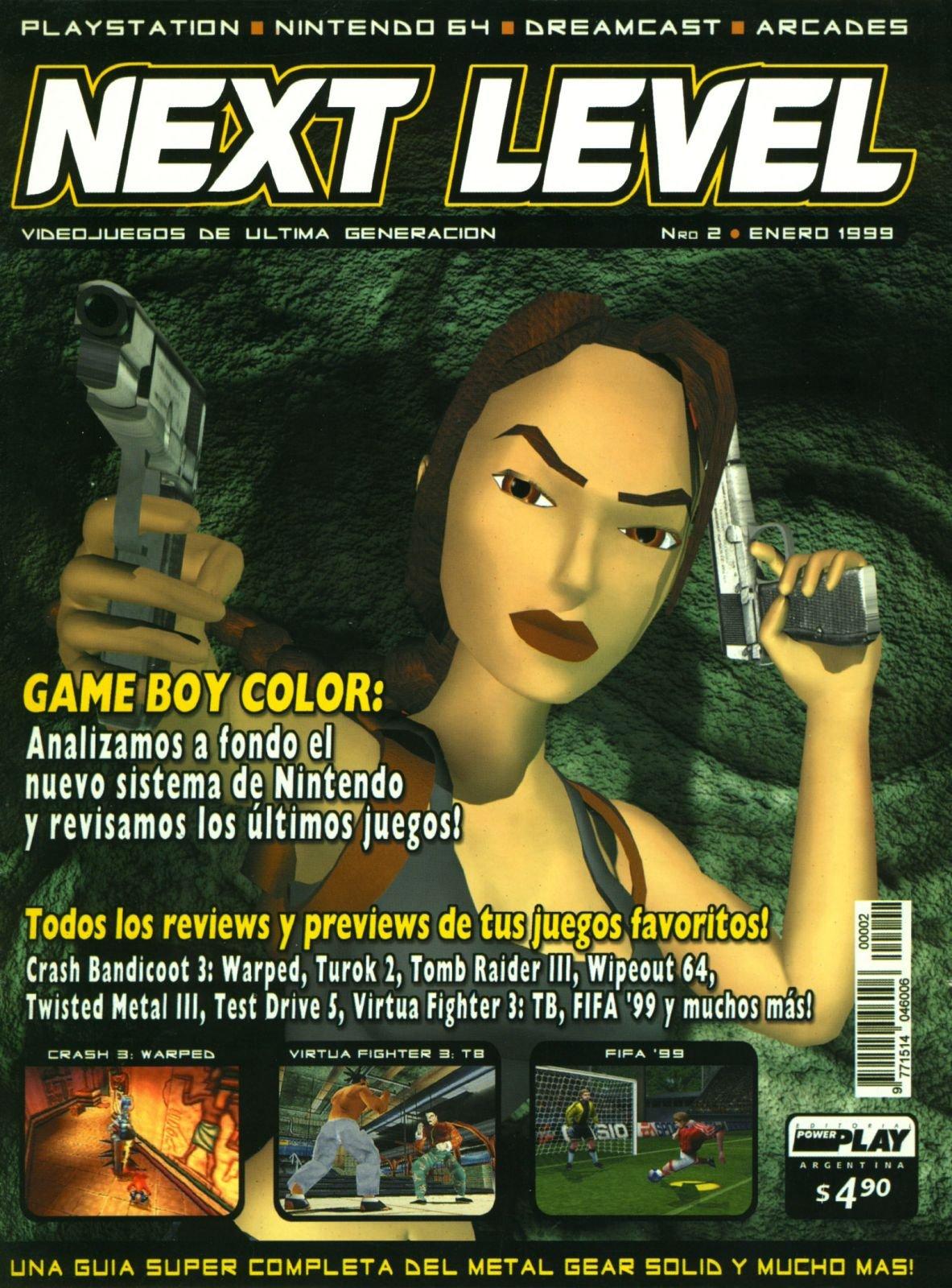 Next Level 02 January 1999