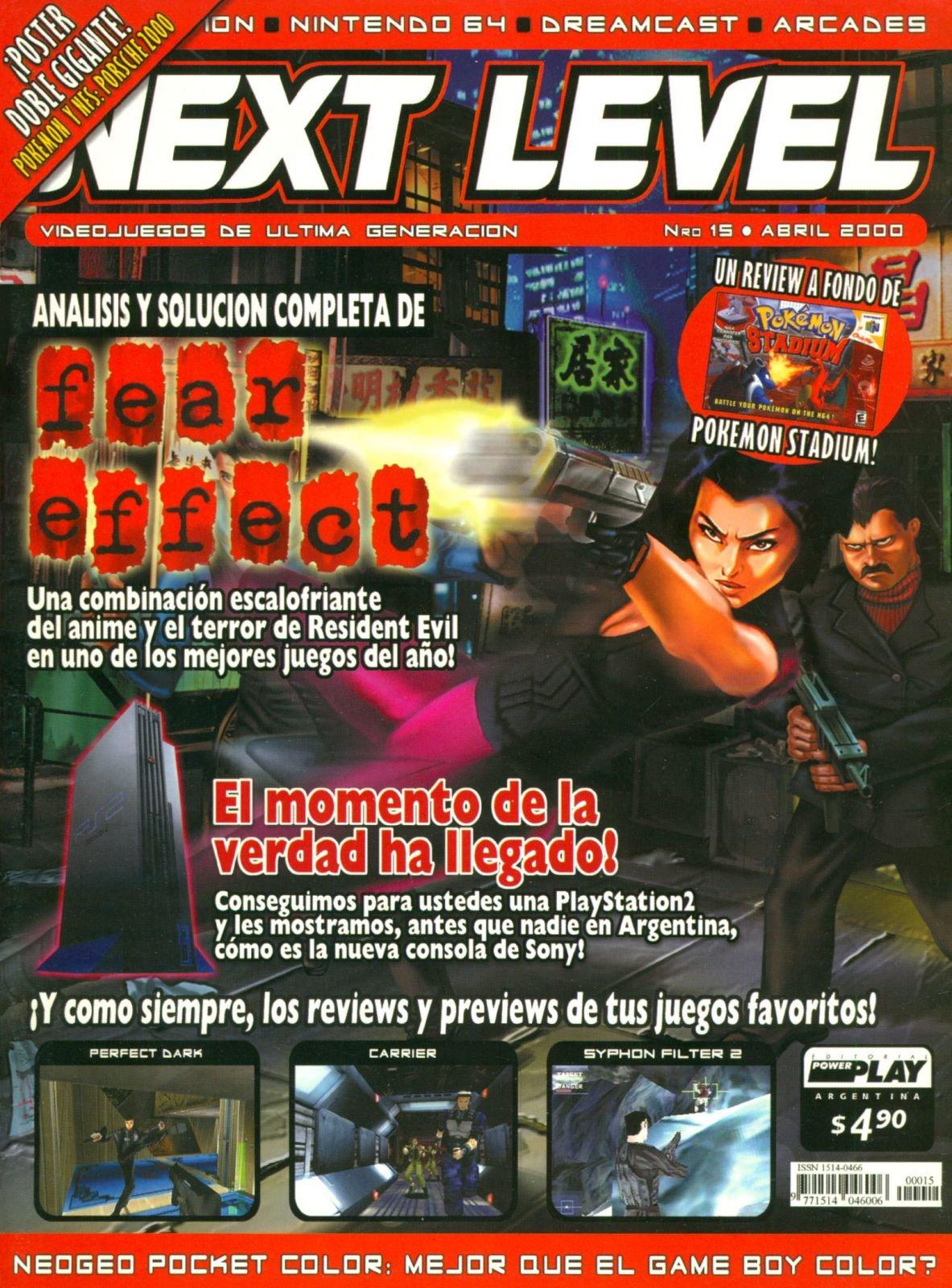 Next Level 15 April 2000