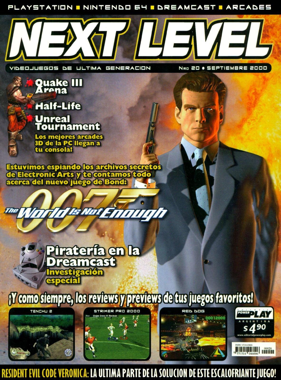 Next Level 20 September 2000