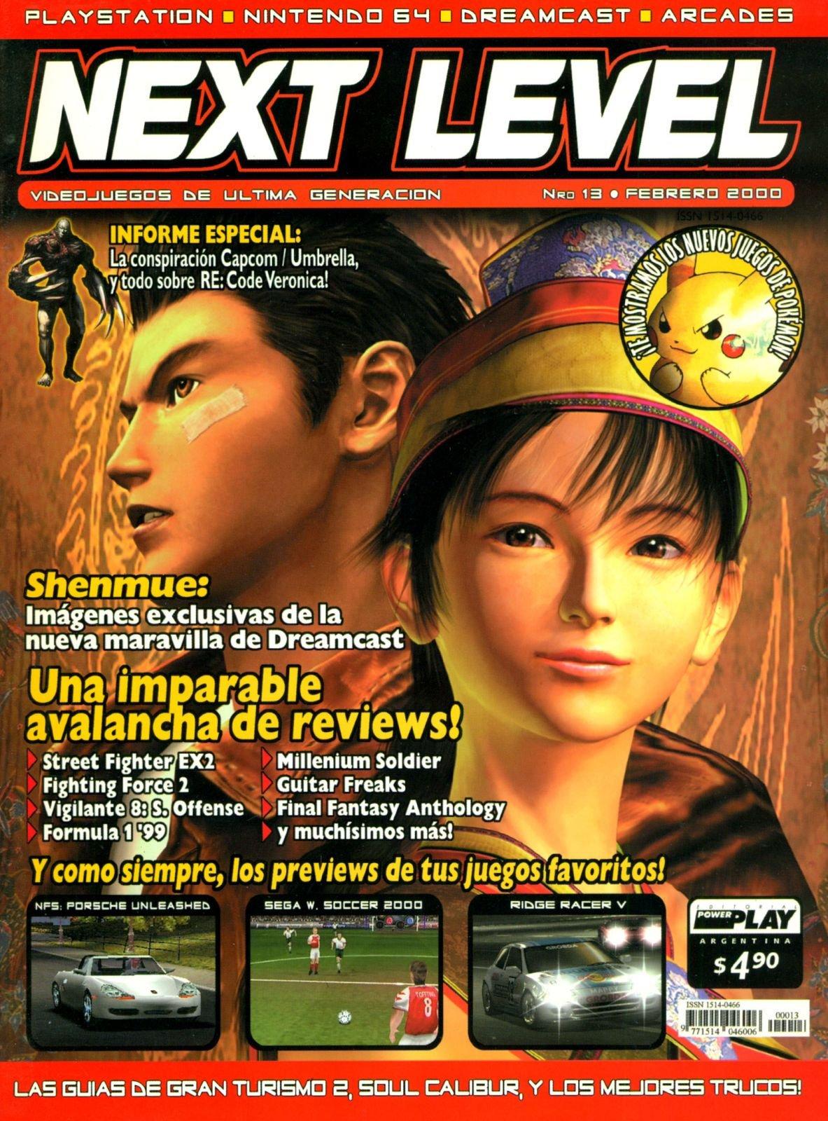 Next Level 13 February 2000