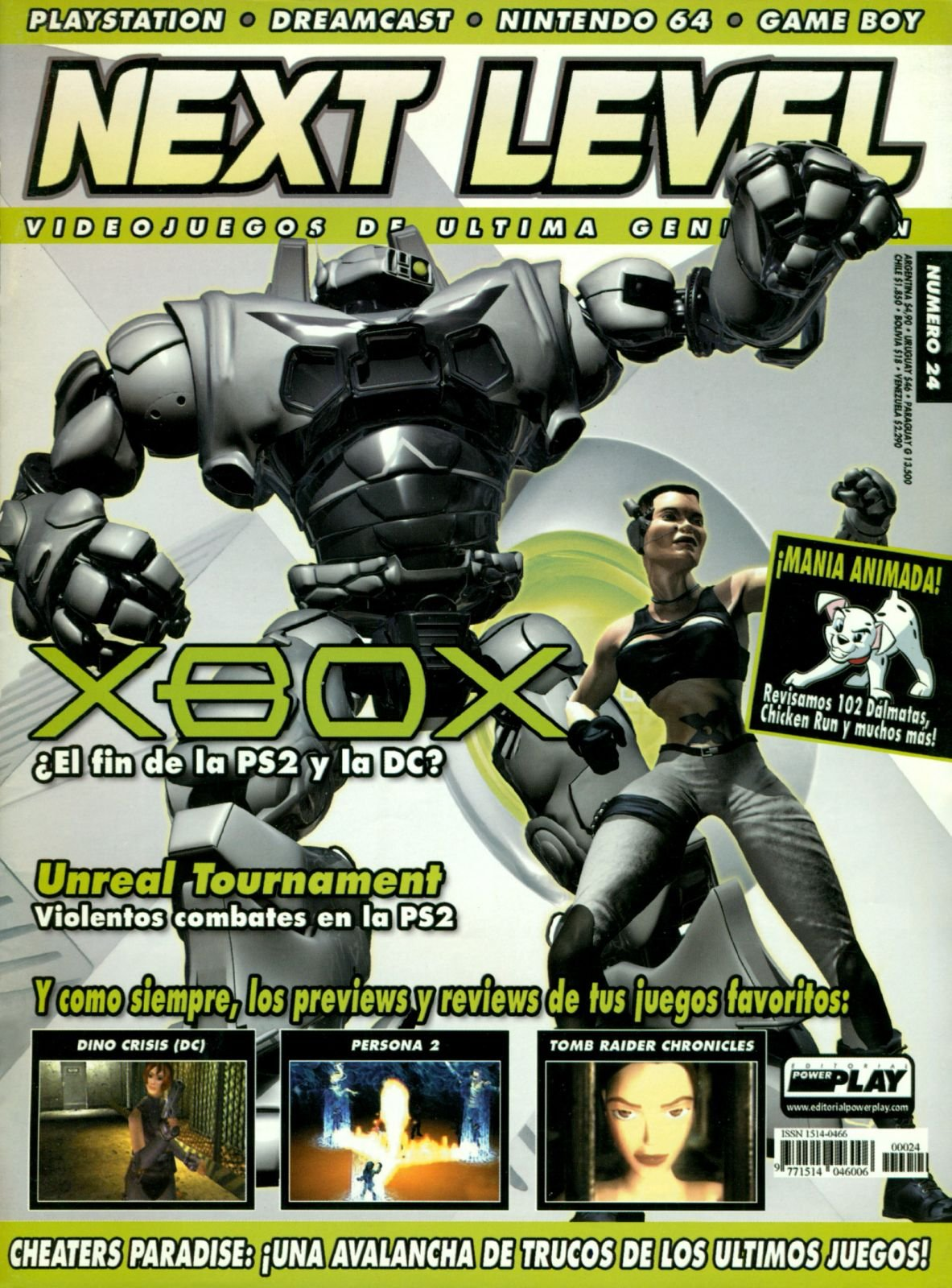 Next Level 24 January 2001