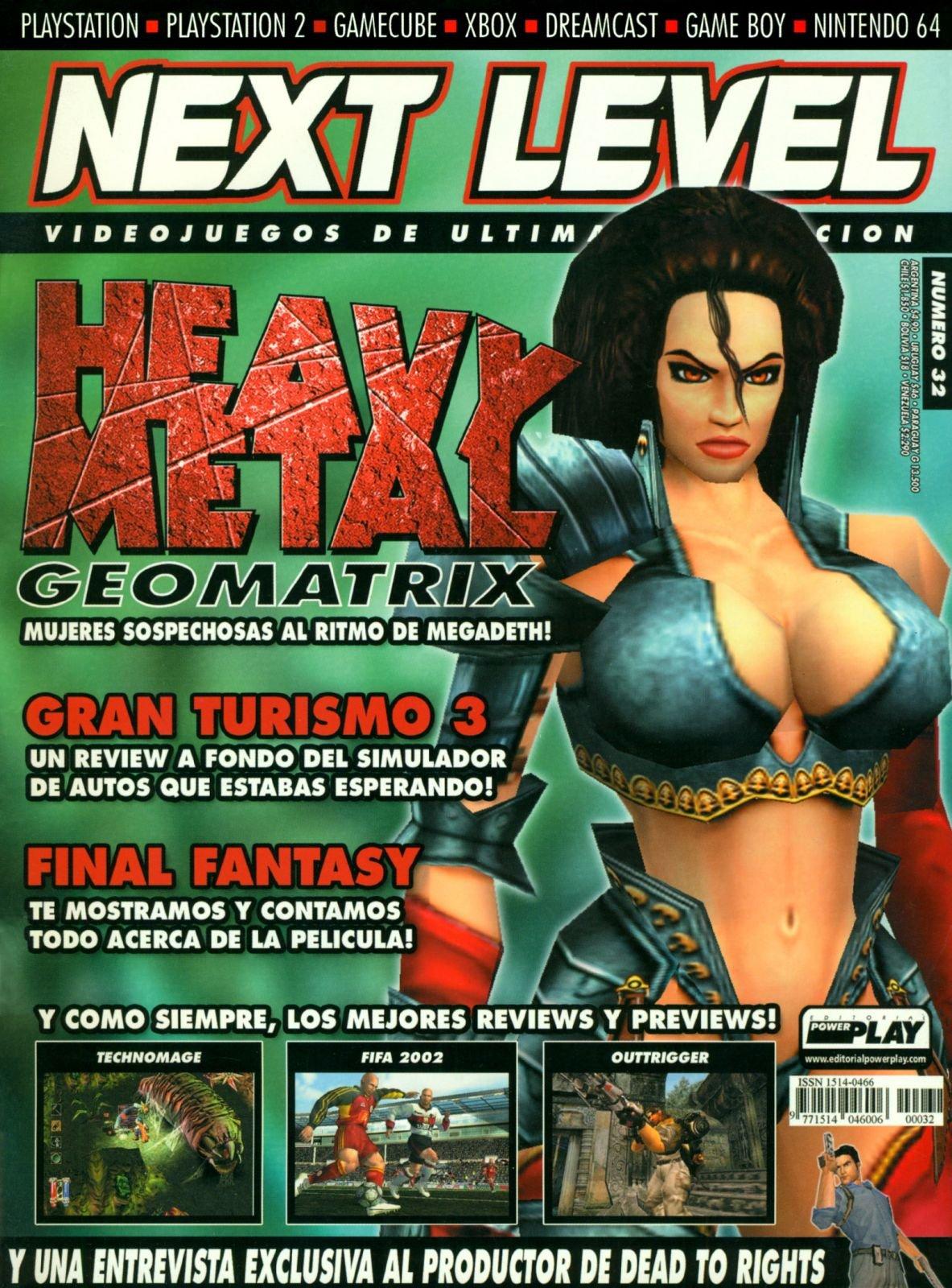 Next Level 32 September 2001