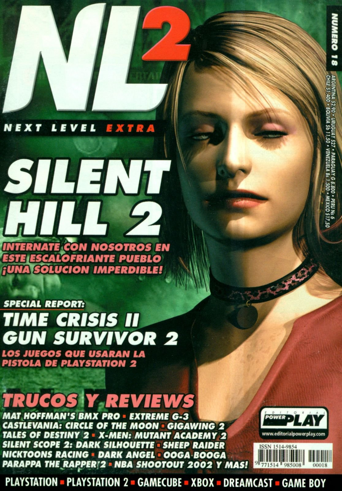Next Level Extra 18 October 2001
