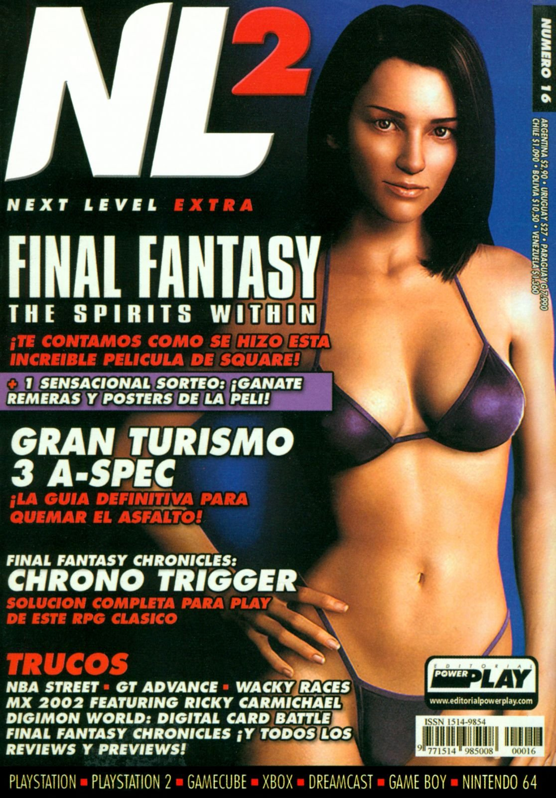 Next Level Extra 16 August 2001