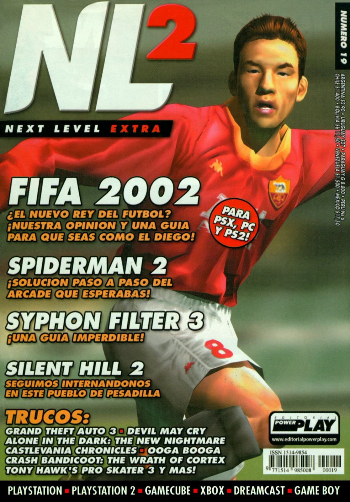 Next Level Extra 19 November 2001