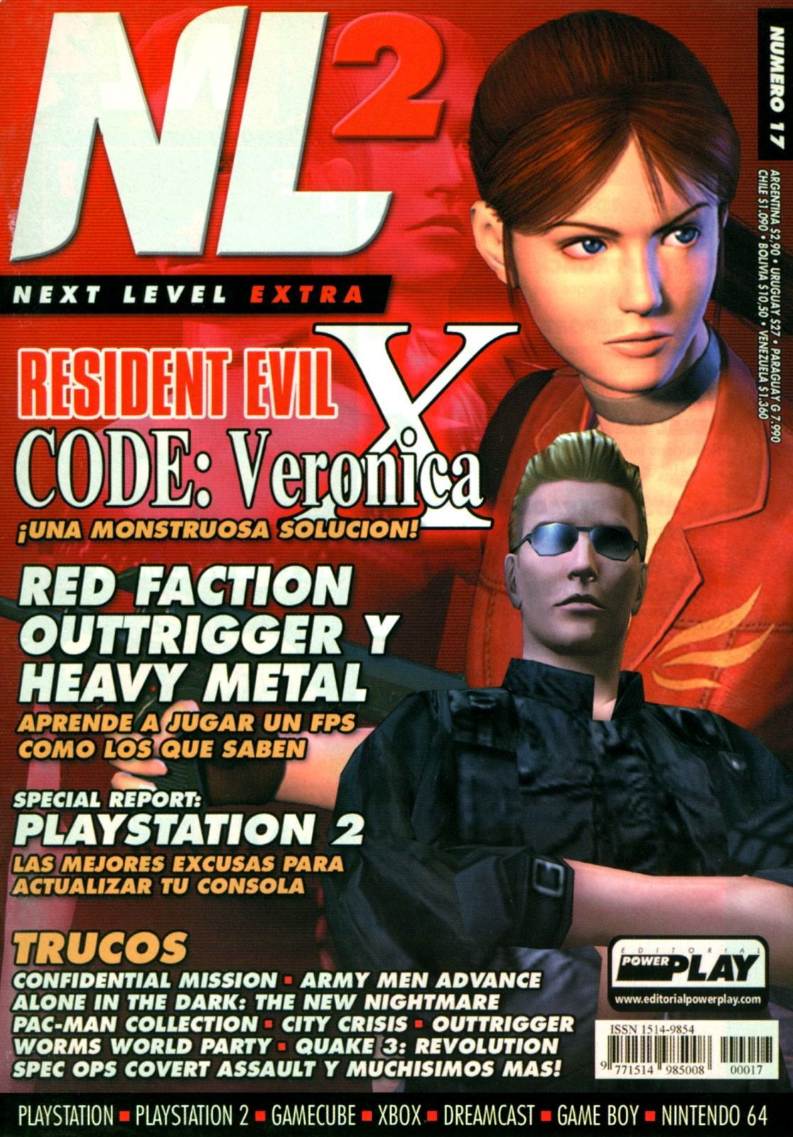 Next Level Extra 17 September 2001