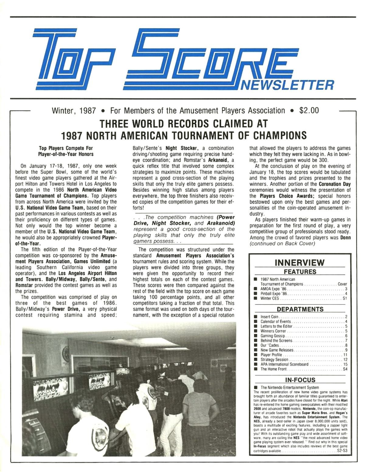 Top Score Winter 1987