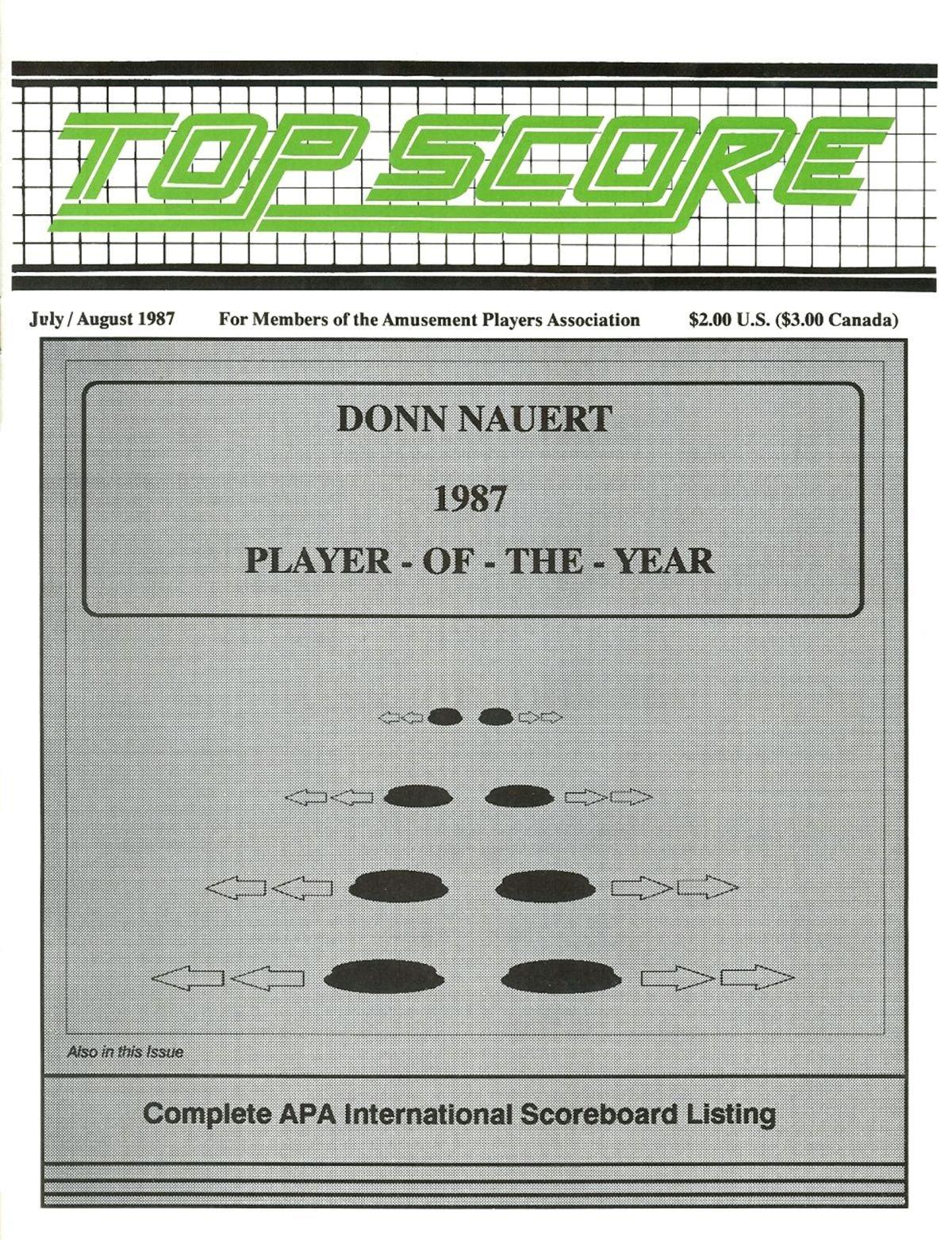 Top Score July August 1987