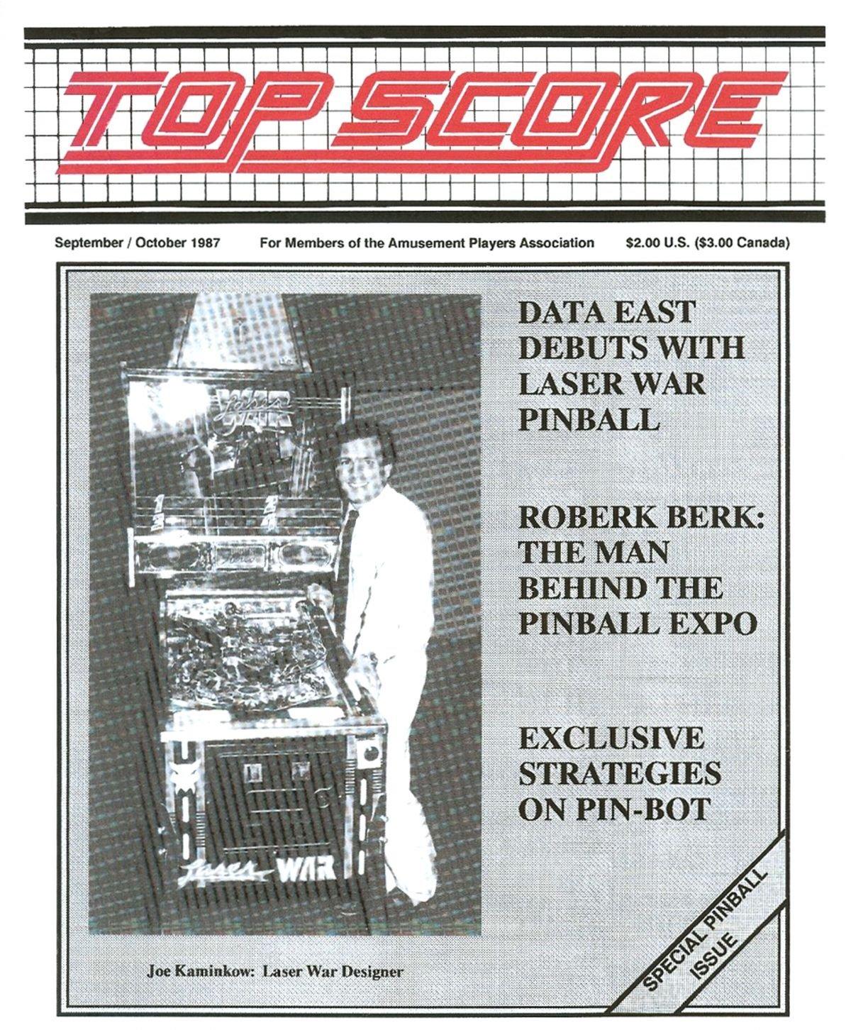Top Score September October 1987