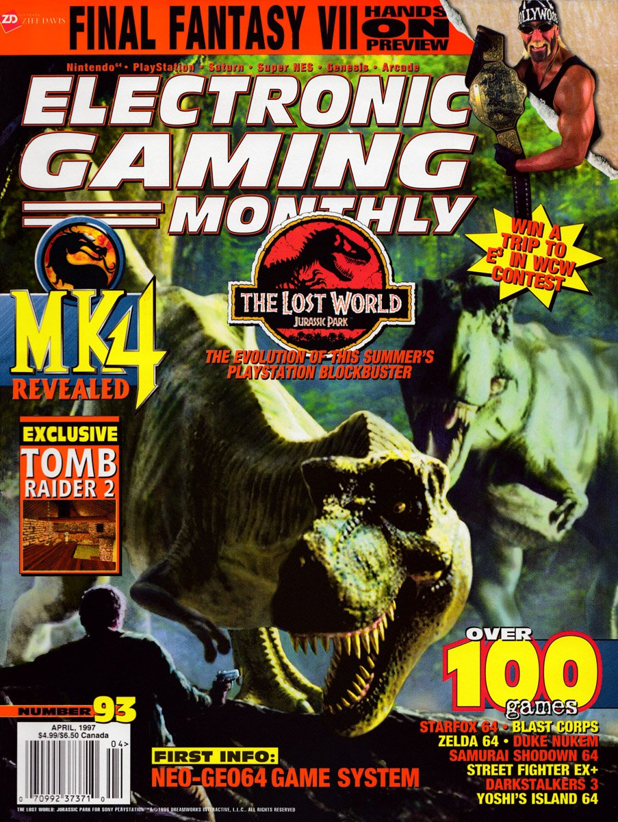 Electronic Gaming Monthly Issue 93