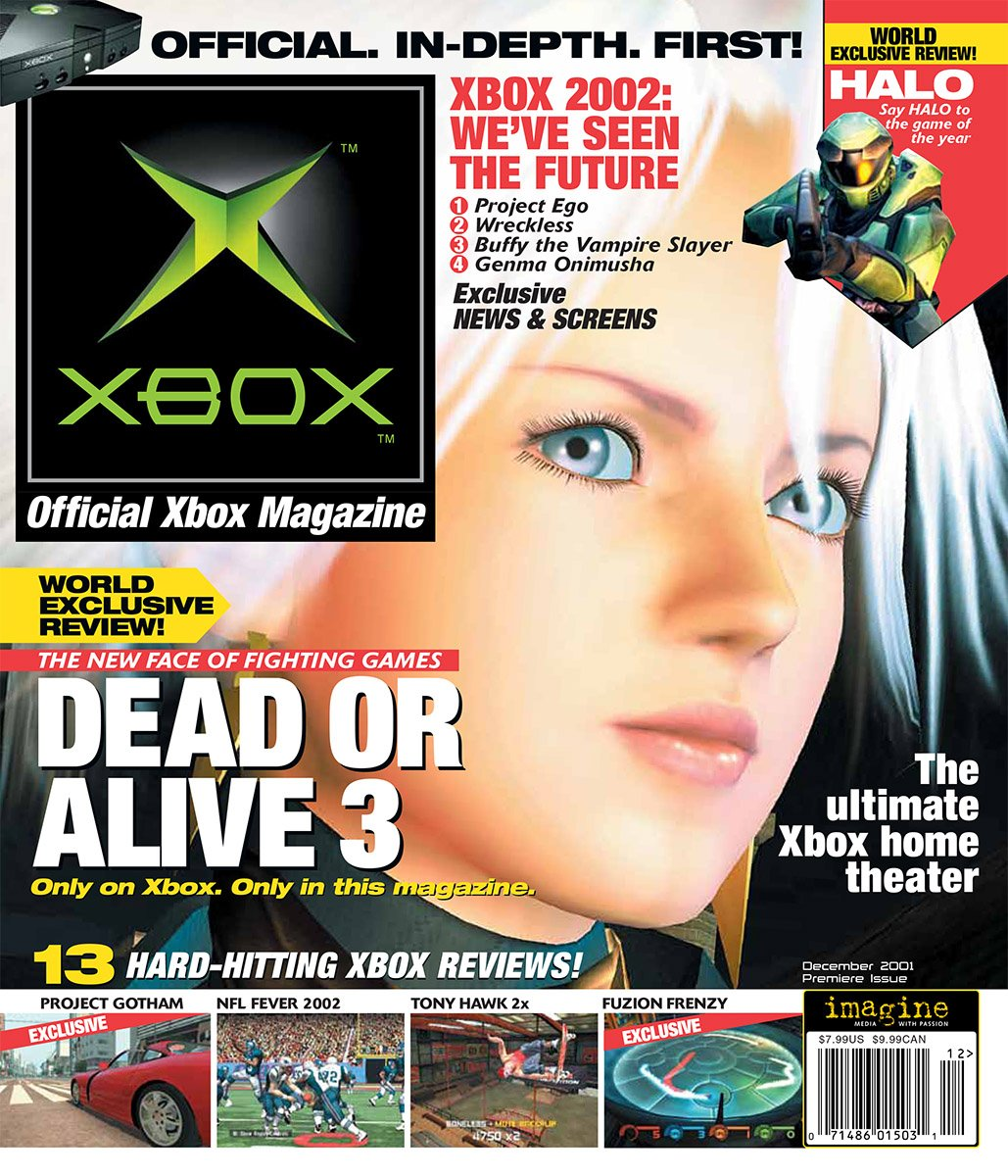 Official Xbox Magazine 001 December 2001