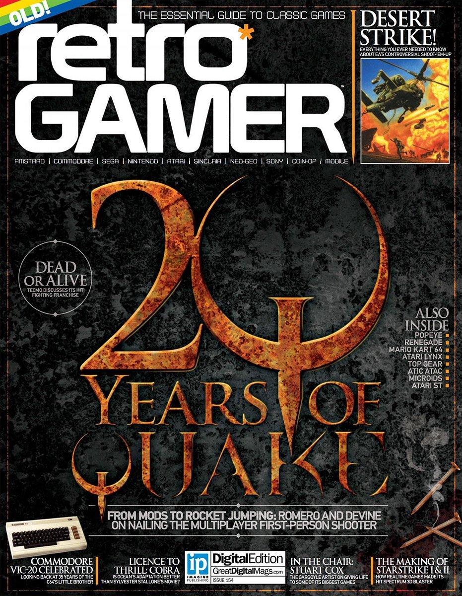 Retro Gamer Issue 154 (May 2016)