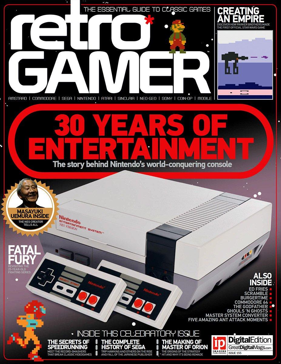 Retro Gamer Issue 155 (June 2016)