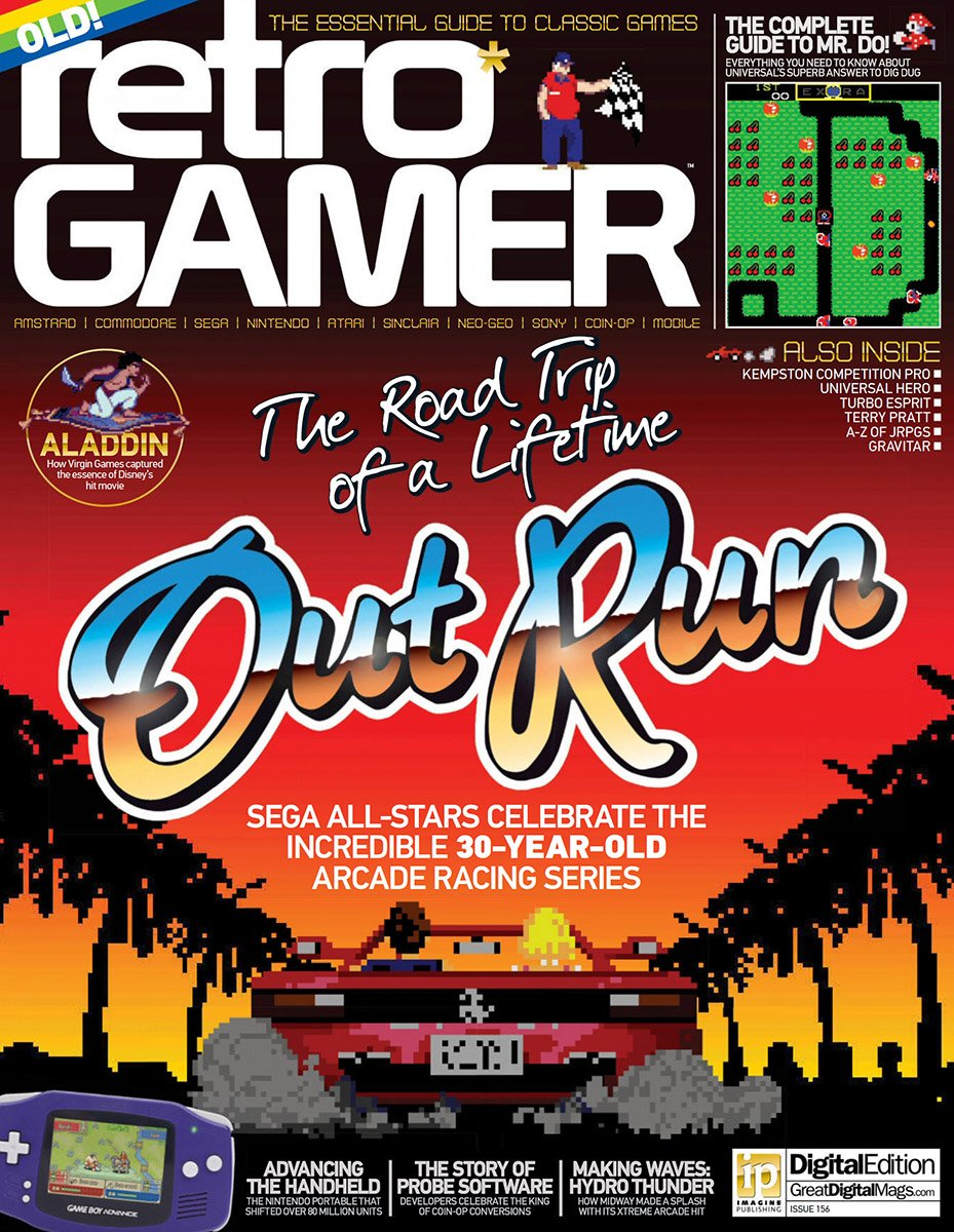 Retro Gamer Issue 156 (July 2016)