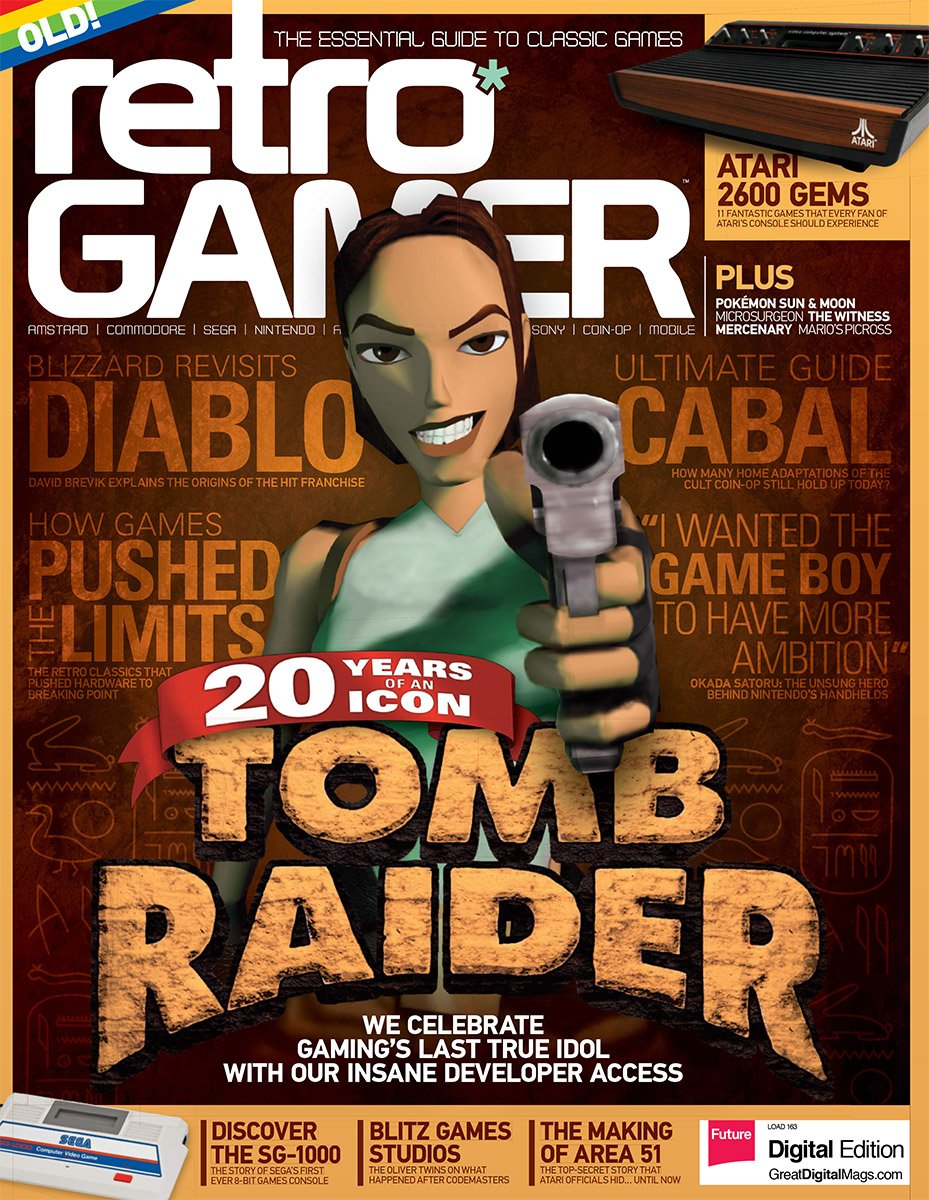 Retro Gamer Issue 163 (January 2017)