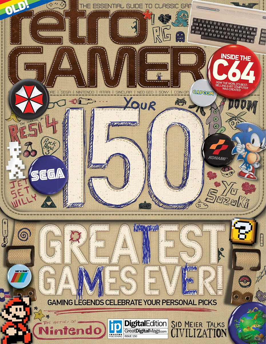 Retro Gamer Issue 150 (January 2016)