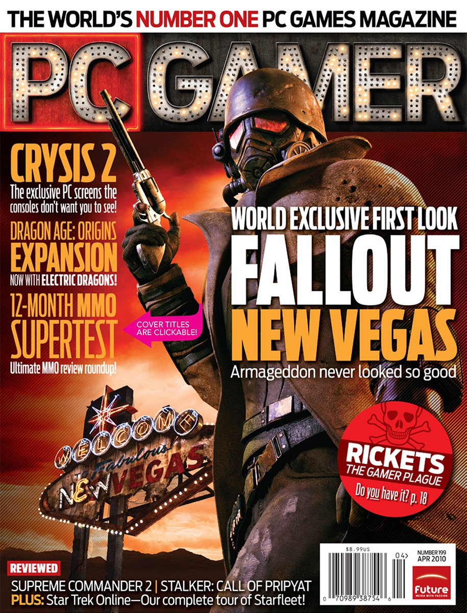 PC Gamer Issue 199 April 2010