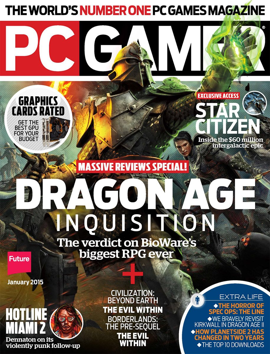 PC Gamer Issue 261 January 2015