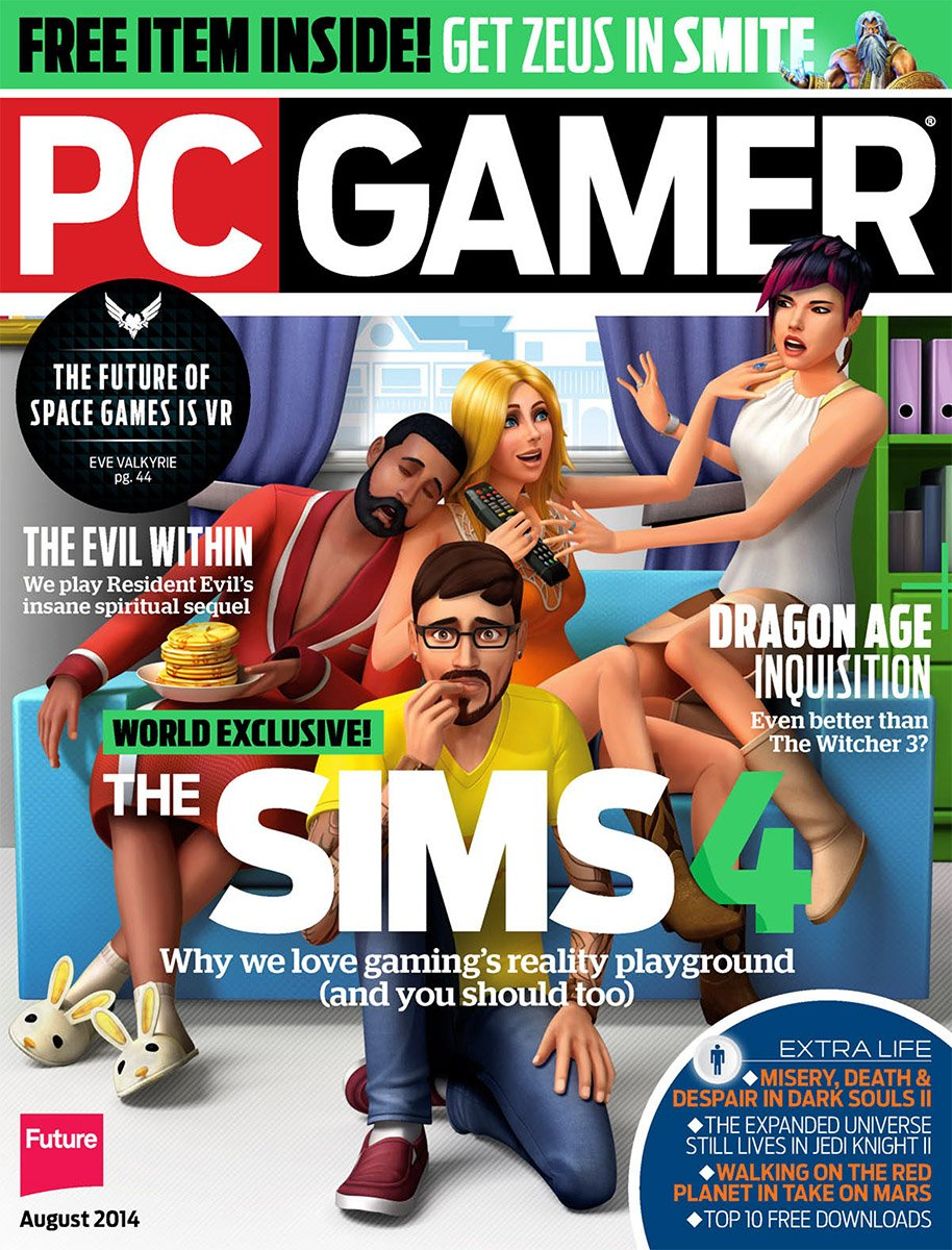 PC Gamer Issue 255 August 2014